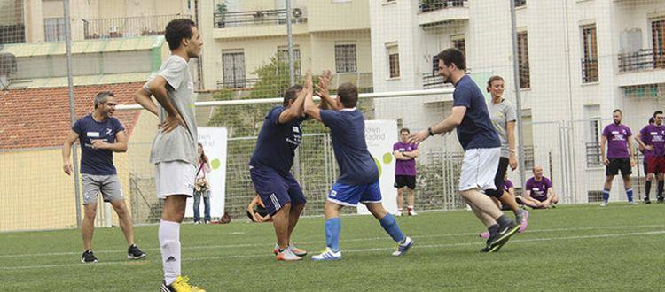 , II Campeonato Fútbol 7 Empresas solidarias