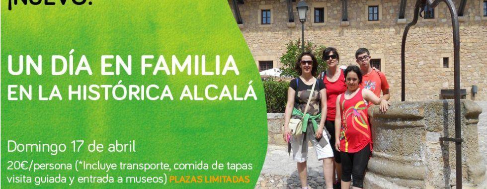 Un día en la familia en Alcalá de Henares