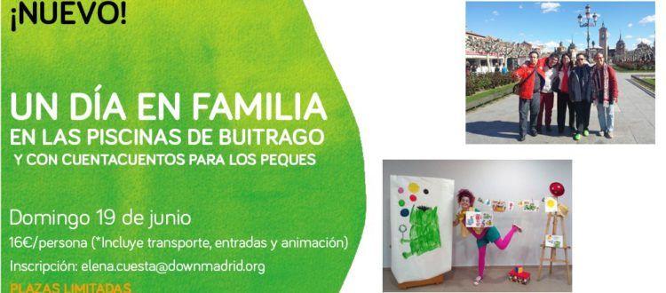 , Un día en familia en las piscinas de Buitrago y con cuentacuentos para los más pequeños