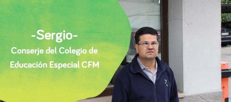 Sergio, conserje de Down Madrid