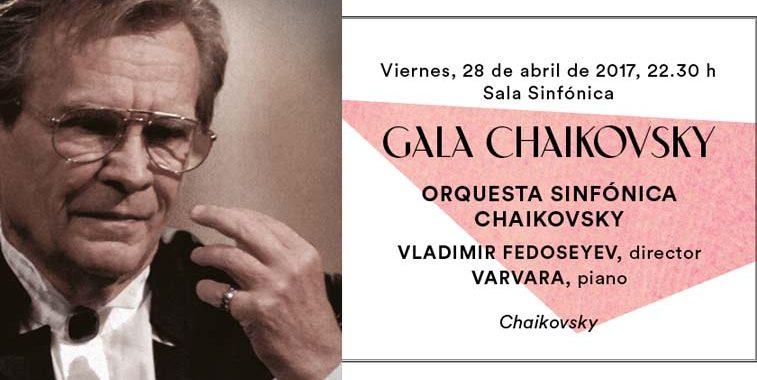 Cartel de la gala Chaikovsky a beneficio de Down Madrid