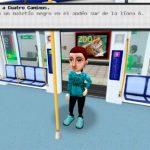 Imagen del videojuego Downtown, Aventura en el metro