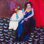 La señora, segundo premio del concurso de pintura internacional de Arte Down
