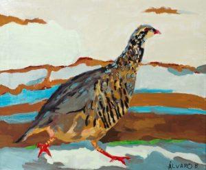 La perdiz, tercer premio del concurso de pintura internacional de Arte Down