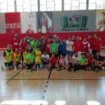 Foto de equipo fútbol sala de Down Madrid
