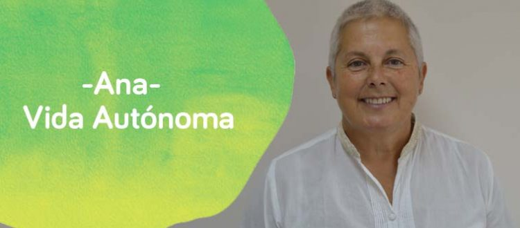 Ana González, la coordinadora de vida autónoma y centro de Día
