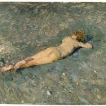 desnudo en la playa de portici- Concurso Pintura Down Madrid