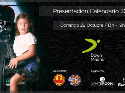 Cartel evento presentación Calendario solidario 2018