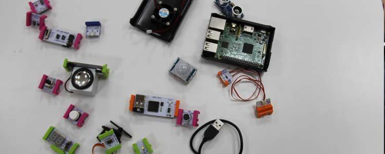 Elementos de robótica de Blue TC