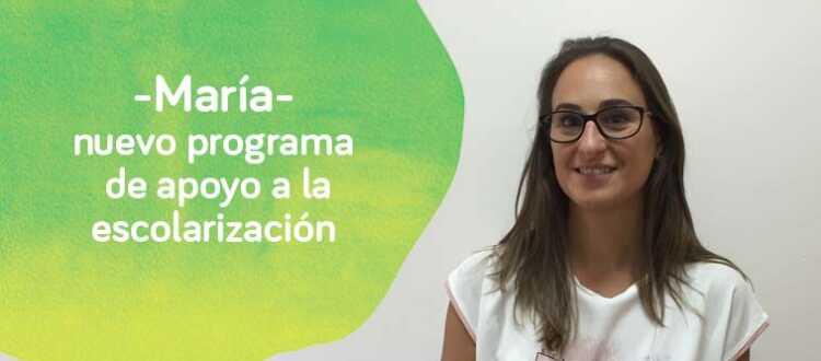 María Trevijano programa de apoyo a la escolarización