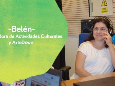 Belén, coordinadora de actividades culturales y ArteDown de Down Madrid