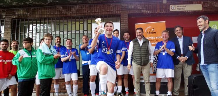 fútbol inclusivo en el sector inmobiliario, El sector inmobiliario juega un partido por la integración social