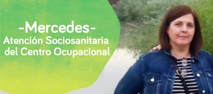 Mercedes profesional del Centro Ocupacional de Down Madrid