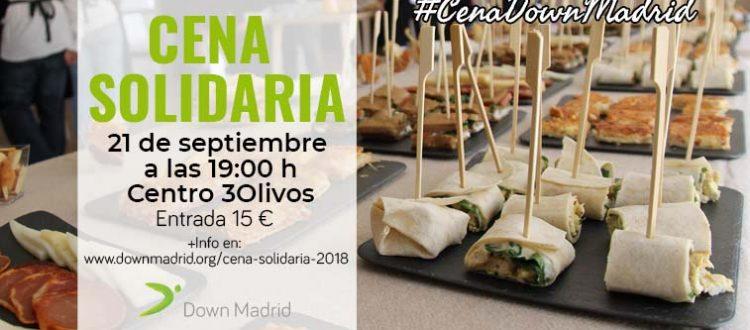 cena solidaria, XII Cena Solidaria Down Madrid