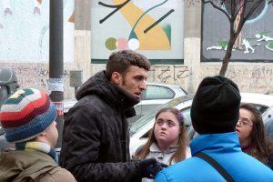Grupo de personas con discapacidad de Down Madrid en una actividad de ocio
