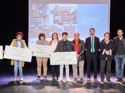 Ganadores del III Concurso de pintura de Maxam y Down Madrid