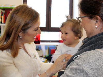Ana Pastor visita el Centro De Educación Especial Carmen Fernández Miranda. 21 de Marzo