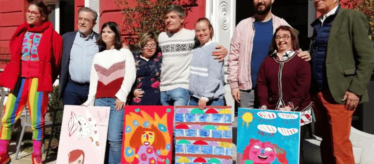 , Artistas de Down Madrid muestran su capacidad creativa en el Mercadillo Hanbel Madrid