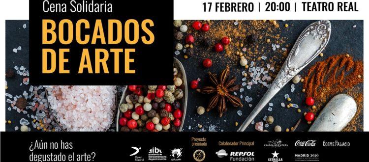 Cena Solidaria Bocados de Arte Down Madrid
