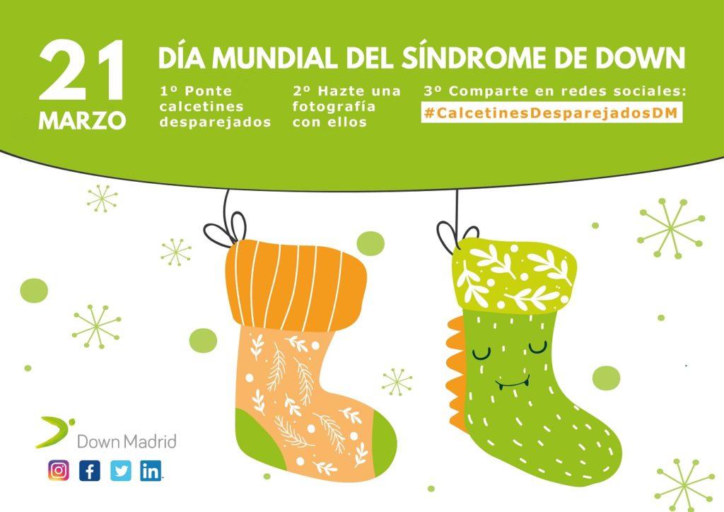 Calcetines Desparejados, Día Mundial del Síndrome de Down