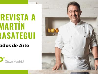Entrevista Martin berasategui Down Madrid