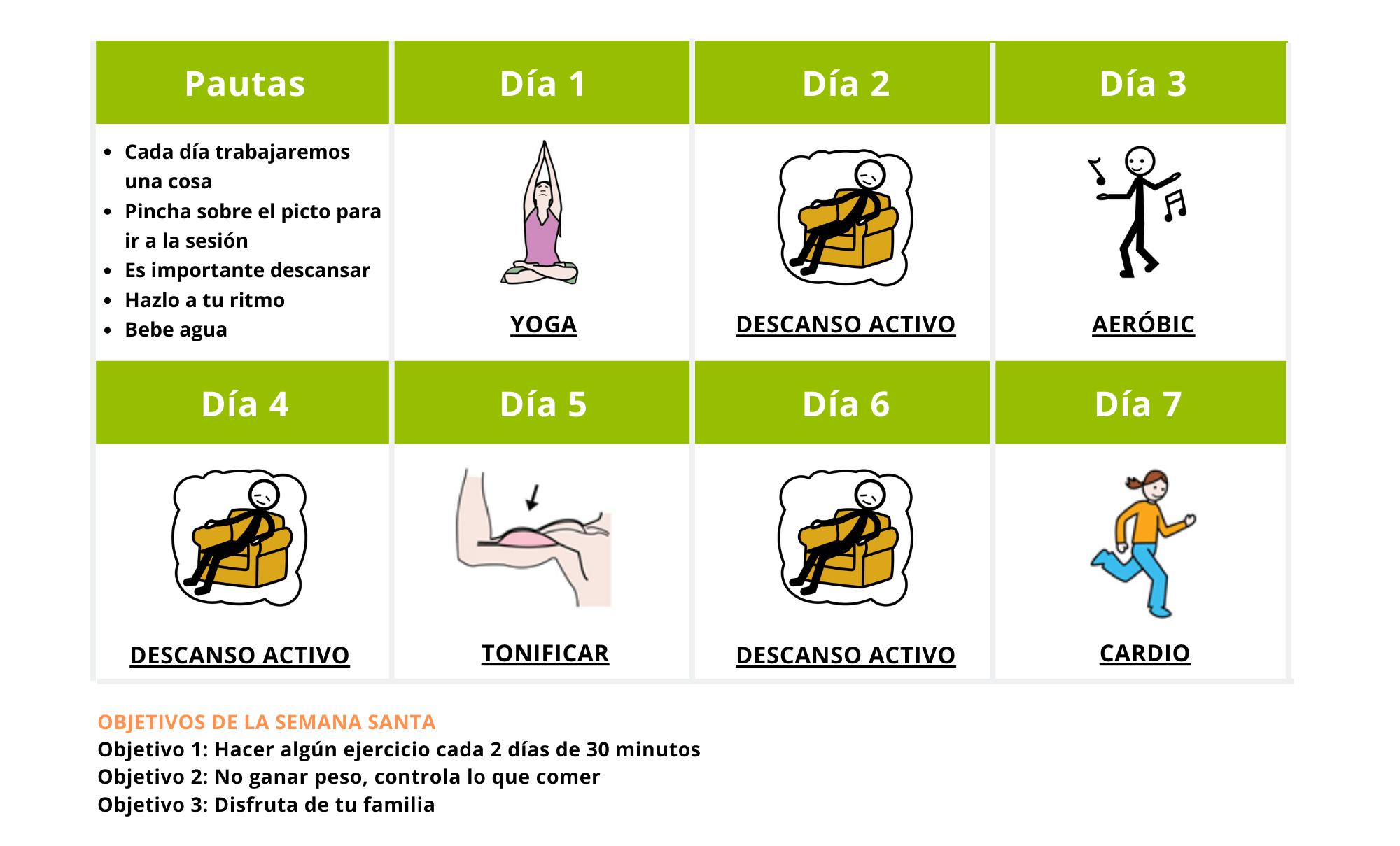 Programa Deporte Down Madrid