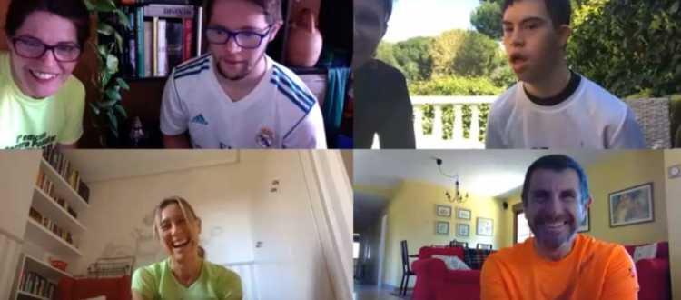 Sesiones de entrenamiento online de Down Madrid