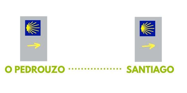 , Camino de Santiago virtual – O Pedrouzo