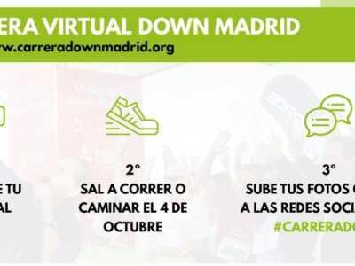 Comparte la #CarreraDown