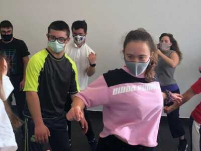 Baile inclusivo Zoomba